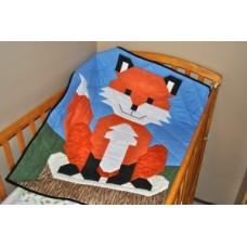 Baby Fox Paper Pattern