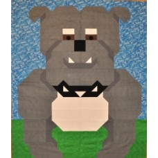 Bulldog Paper Pattern