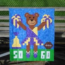 Cheer Bear Paper Pattern