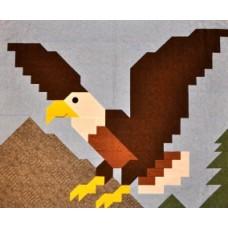 Eagle Paper Pattern