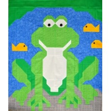 Frog Paper Pattern