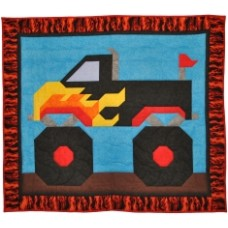 Monster Truck Quilt Pattern