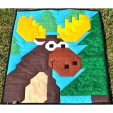 Moose Paper Pattern
