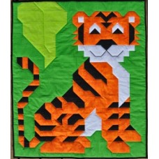 Andy's Tiger Paper Pattern